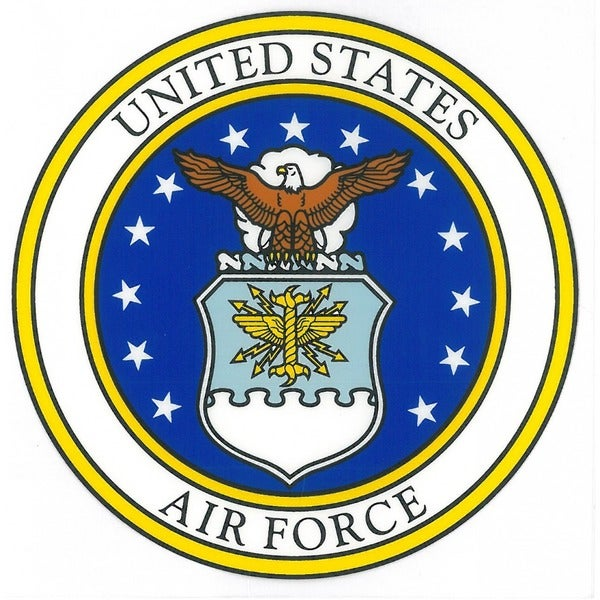 United States Air Force Seal Car Decal Free Shipping On
