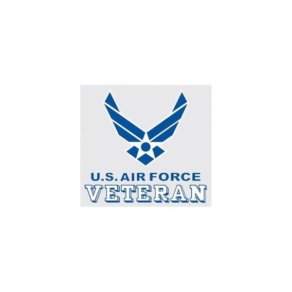 US Air Force Veteran Logo Car Decal
