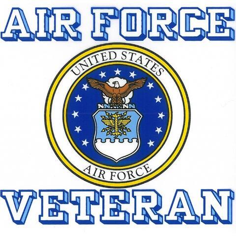 US Air Force Veteran with Usaf Seal Car Decal