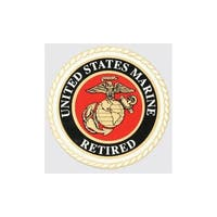 US Marine Corps Retired Seal Car Decal