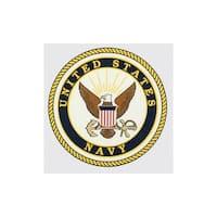 United States Navy Logo Car Decal