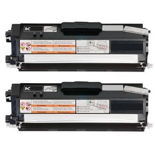 2-pack Replacing Brother TN-310BK Black Toner Cartridge