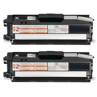 2-pack Replacing Brother TN-310BK Black Toner Cartridge