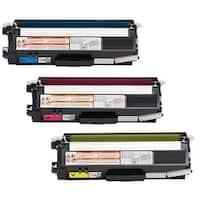 3-pack Replacing Brother TN-310C 310Y 310M Cyan Magenta Yellow Toner Cartridge
