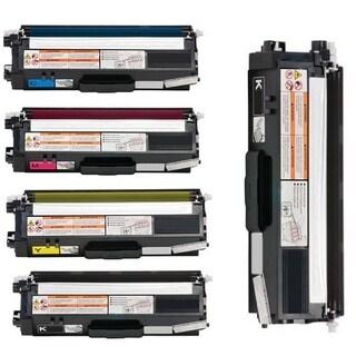 5-pack Replacing Brother TN-310BK 310C 310Y 310M Black Cyan Magenta Yellow Toner Cartridge