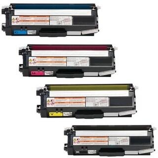 4-pack Replacing Brother TN-310BK 310C 310Y 310M Black Cyan Magenta Yellow Toner Cartridge|https://ak1.ostkcdn.com/images/products/10350268/P17459153.jpg?_ostk_perf_=percv&impolicy=medium