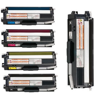 5-pack Replacing Brother TN336 TN-336BK 336C 336Y 336M Black Cyan Magenta Yellow Toner Cartridge