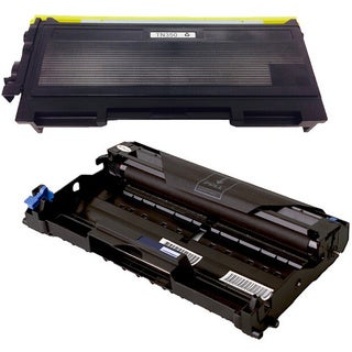 2-pack Replacing Brother 1 by TN350 Toner Cartridge Plus 1 by DR350 Drum Unit