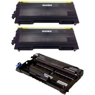 3-pack Replacing Brother 2 by TN350 Toner Cartridge Plus 1 by DR350 Drum Unit