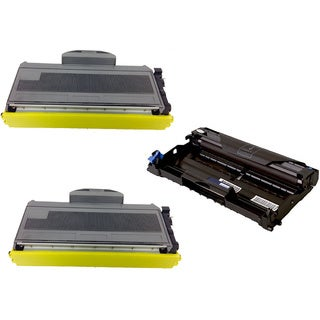 3-pack Replacing Brother 2 by TN-360 Toner Cartridge Plus 1 by DR-360 Drum Unit