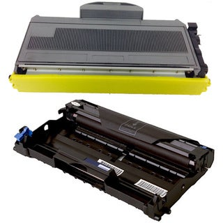 2-pack Replacing Brother 1 by TN-360 Toner Cartridge Plus 1 by DR-360 Drum Unit