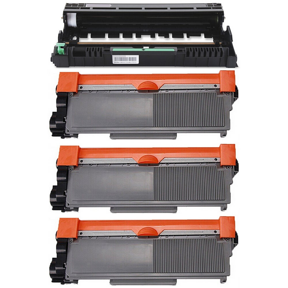 Prinko 4-pack Replacing Brother 3 by TN-580 Toner Cartrid...