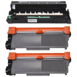 3-pack Replacing Brother 2 by TN-580 Toner Cartridge Plus 1 by DR-520 Drum Unit