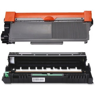 2-pack Replacing Brother 1 by TN-580 Toner Cartridge Plus 1 by DR-520 Drum Unit