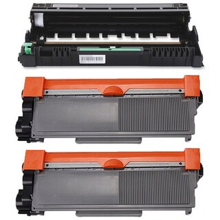 3-pack Replacing Brother 1 by TN-650 Toner Cartridge Plus 1 by DR-620 Drum Unit