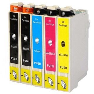 5-pack Replacing Epson 220 220XL T220120 T220XL120 T220XL220 T220XL320 T220XL420 Ink Cartridge