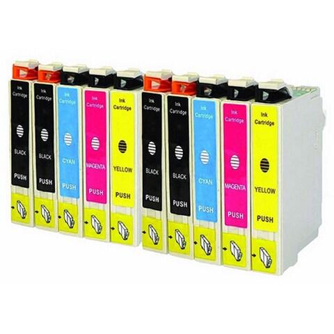 10-pack Replacing Epson 220 220XL T220120 T220XL120 T220XL220 T220XL320 T220XL420 Ink Cartridge