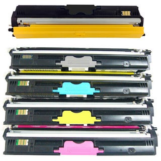 5-pack Replacing Color Set Toner Cartridge for Xerox Phaser 6121 6121MFP Series Printers