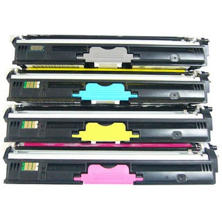 4-pack Replacing Color Set Toner Cartridge for Xerox Phaser 6121 6121MFP Series Printers