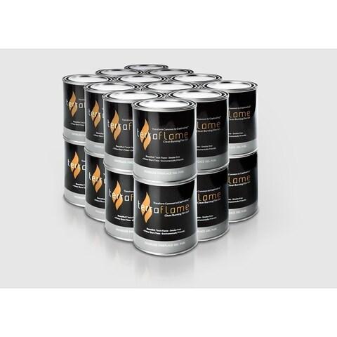 Terra Flame Pure Gel Fuel by SunJel - 24 Pack