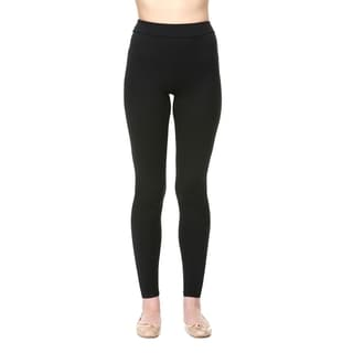 Slim Black Moisturizing Compression Leggings
