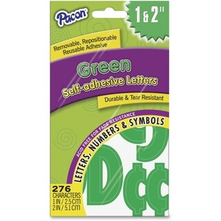 Pacon Reusable Self-Adhesive Letters - 276/PK