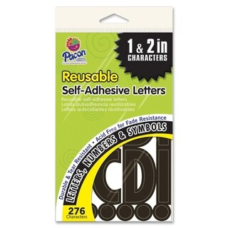 Pacon Self-adhesive Letters - 1/PK