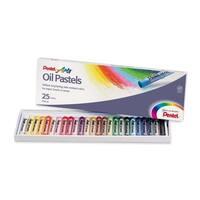 Pentel Arts Oil Pastels - 25/ST