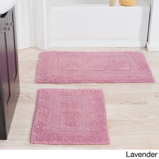 Windsor Home 100-percent Cotton 2-piece Reversible Rug Set