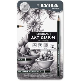 Lyra Art Design Hi-quality Graphite Pencils - 12/ST