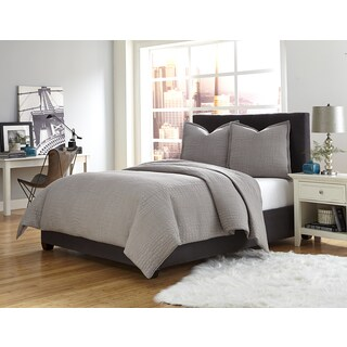 Michael Amini Trent Coverlet/Duvet Set