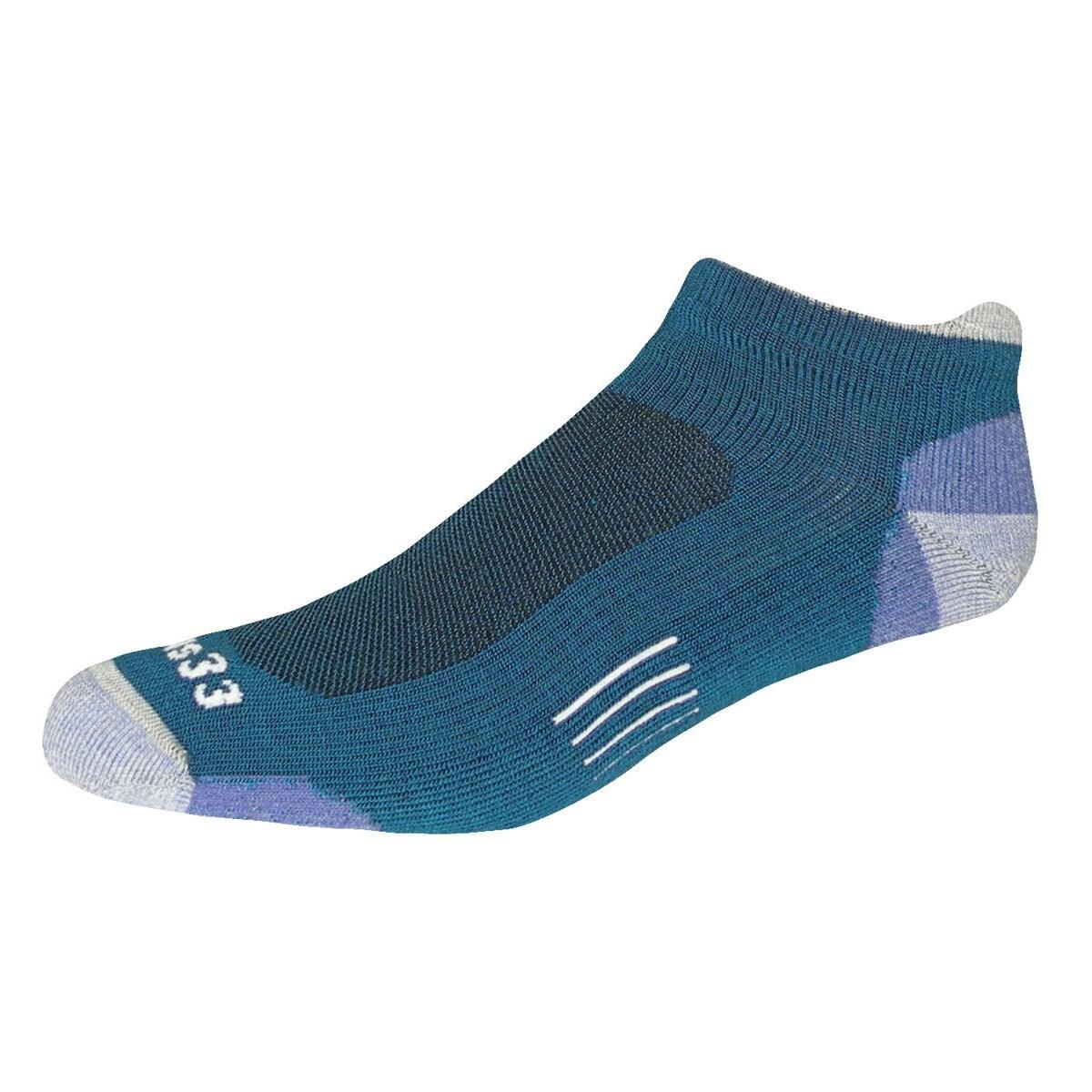 Minus33 Merino Light Trek Runner Socks (Autumn Red Medium...