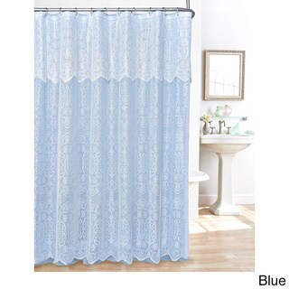 Gracewood Hollow Heyer Lace Shower Curtain