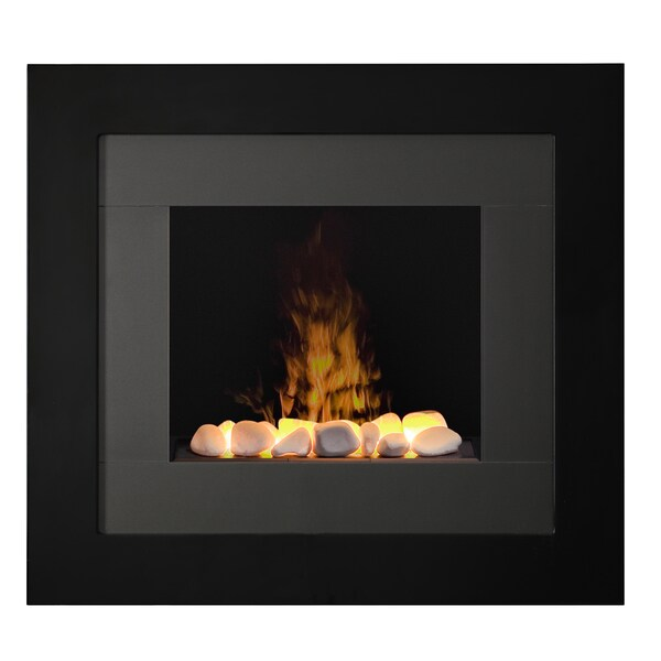 Redway Wall-Mount Opti-myst technology Electric Fireplace