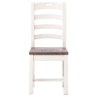Rustic Ladder Back Dining Chair