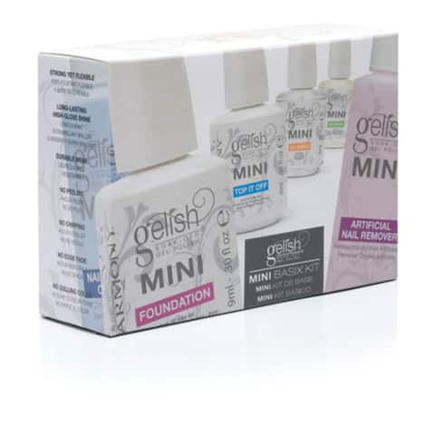 Gelish Gel Polish Mini Basix Kit - Multi