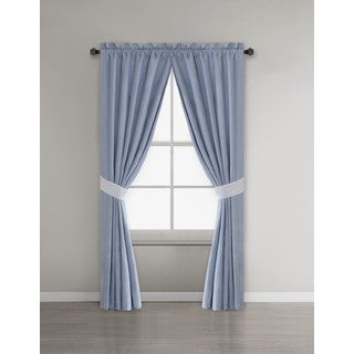 Harbor House Crystal Beach Window Curtain Pair