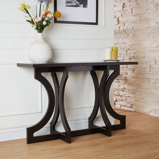 Furniture of America Kiana Contemporary Open Cut-out Console Table