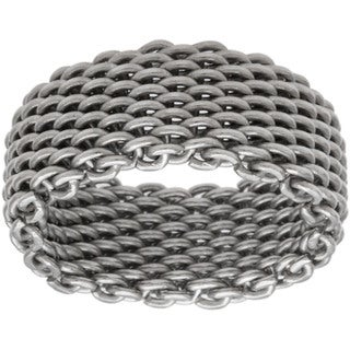Kele & Co. Sterling Silver Mesh Ring