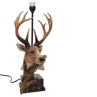 Rivers Edge Products Designer Deer Table Lamp