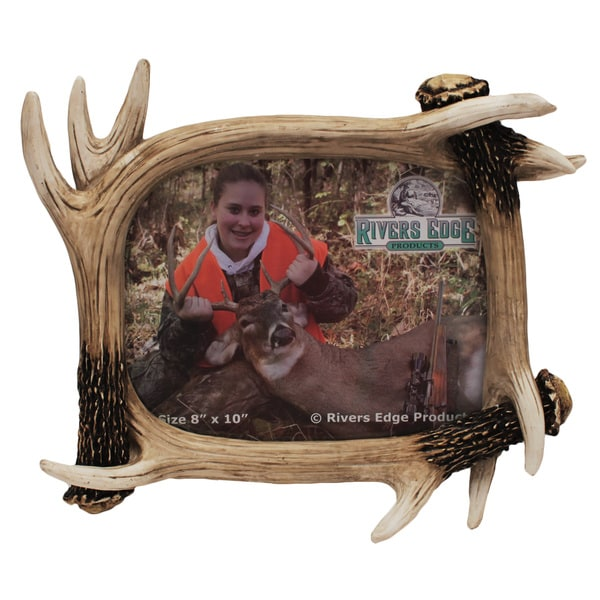 Rivers Edge Products Antler 8x10 Picture Frame