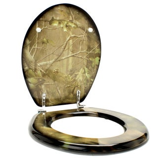 Rivers Edge Products Realtree APG Camo Toilet Seat