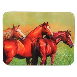 Rivers Edge Products 3-horse Cutting Board