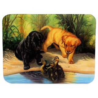 Rivers Edge Products Next Generation-Lab Pups Cutting Board