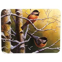 Rivers Edge Products Chickadees Cutting Board