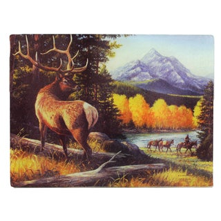 Rivers Edge Products Elk Cutting Board