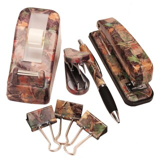Rivers Edge Products 7-piece Camo Office Desk Set