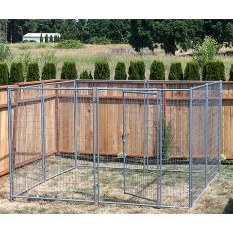 Lucky Dog Modular Welded Wire Kennel Kit