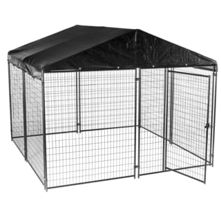 Lucky Dog Modular Kennel with Cover and Frame