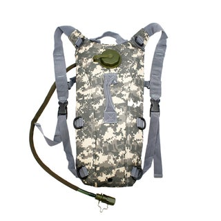 Gearonic 2L Hydration System Climbing Hiking Pouch Backpack Bladder Water Bag (Option: ACU)